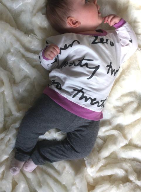 Fledermaus-Shirt für Babys nähen