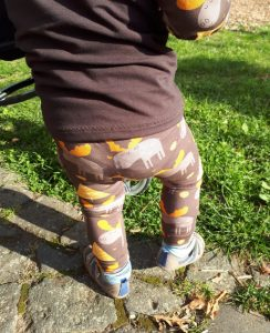 Freebook Leggings Luna - Verena - Elch - K-Nähleon