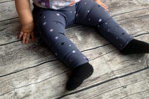 Leggings Luna - Basic-Teil mit Sternen