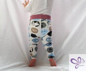 Freebook Leggings Luna - nili näht cats and dogs