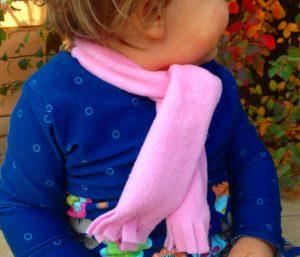 Schneller Baby-Schal