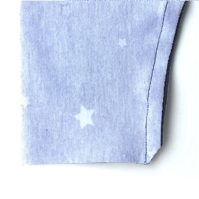 Freebook Leggings Luna - Beinnaht ohne Saum nähen