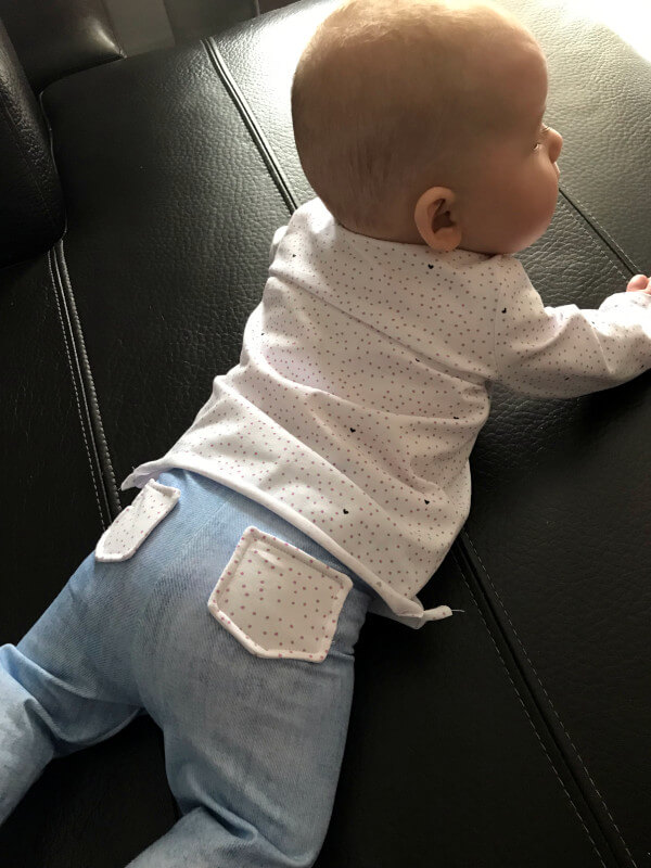 Baby-Leggings mit Taschen nähen