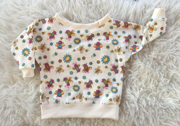 Fledermaus-Shirt aus Baumwollstoff nähen