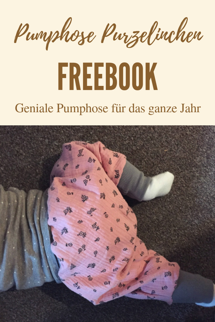Freebook Kinder-Pumphose Purzelinchen