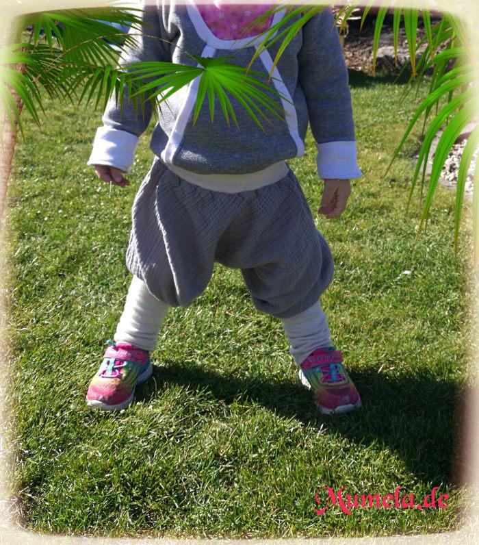 Tragebild Pumphose Purzelinchen für Kinder als Knickerbocker