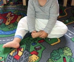 Upcycling Pumphose Purzelinchen für Kinder asu Mullwindel
