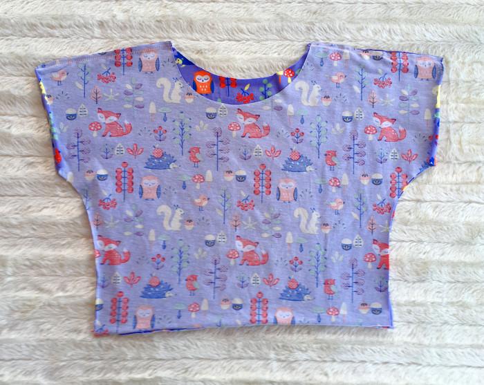 Tutorial: Schnelles T-Shirt für Kinder nähen