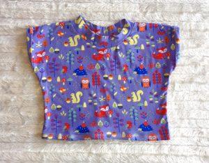 Schnelles Kinder-T-Shirt nähen - Ärmel mit Aufschlag
