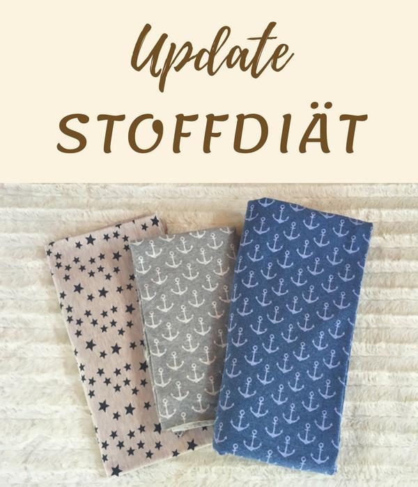 Update Stoffdiät - Ankerstoff und Sterne