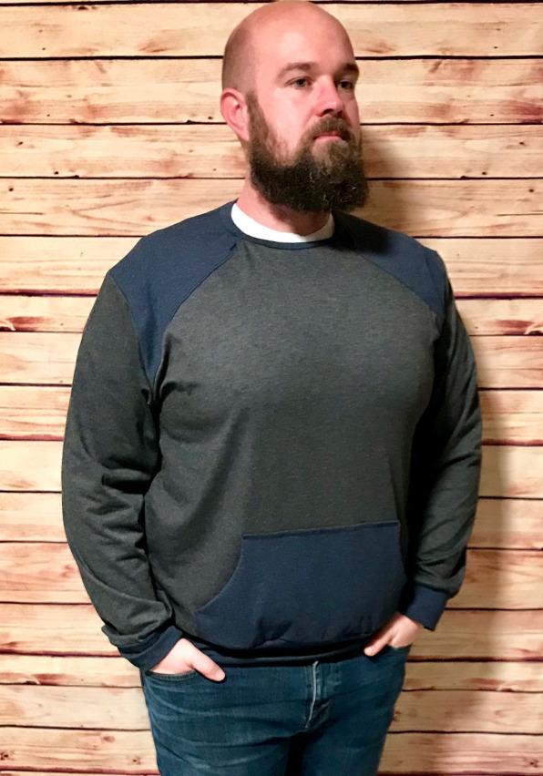 Schnittmuster für Männer - Pullover Peer