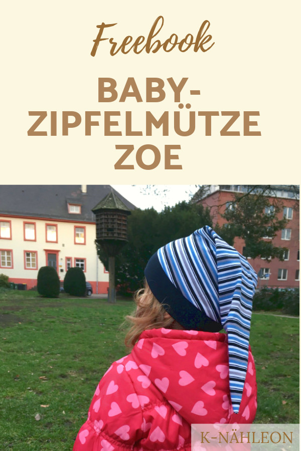 Freebook Zipfelmütze Zoe mit Streifen