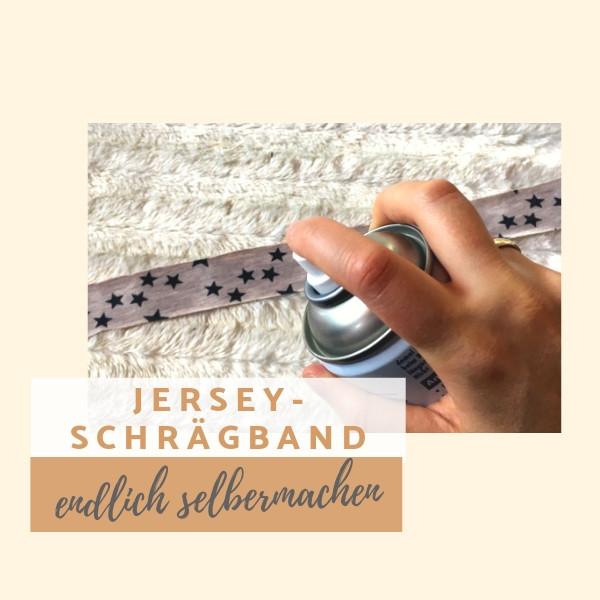 Jersey Schrägband endlich selber machen