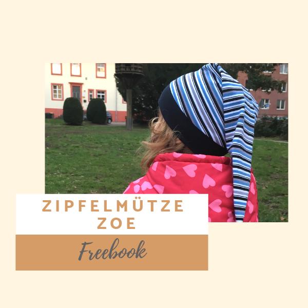 Freebook Zipfelmütze Zoe für Babys