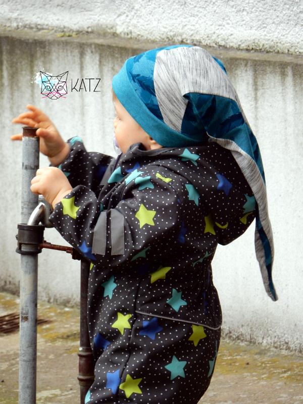 Schnittmuster für eine Jungen-Zipfelmütze