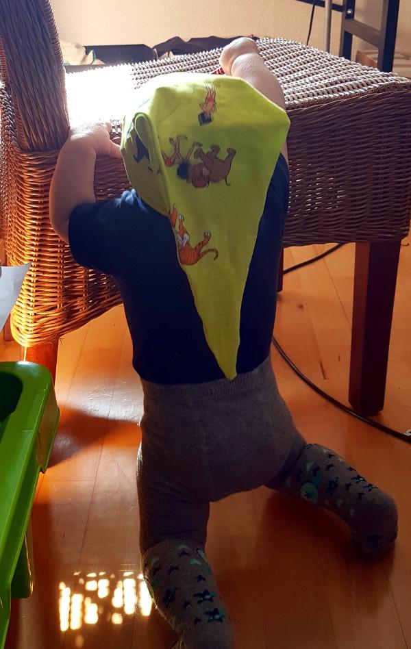 Zipfelmütze für Kinder in grün