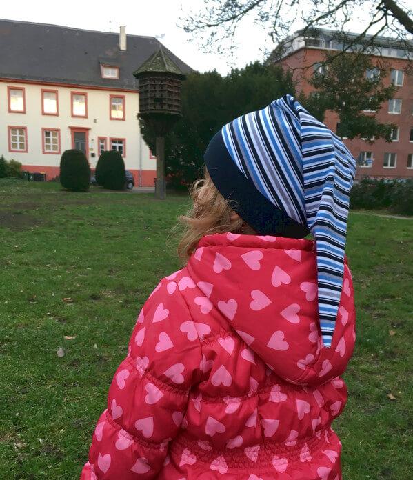 Zipfelmütze mit dem kostenlosen Schnittmuster Zoe