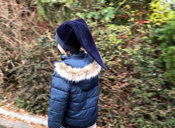 Freebook Zipfelmütze Zoe für Jungen aus Flausch-Sweat