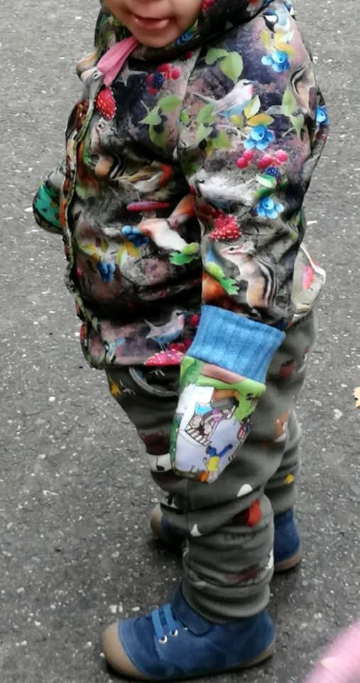 Tragebild Handschuh für Kinder