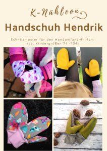 Schnittmuster Kinder-Handschuhe Hendrik von K-Nähleon