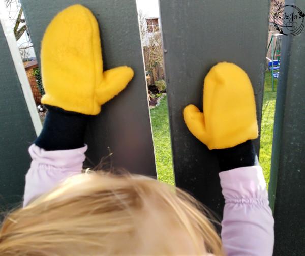Tragebild Schnittmuster Handschuh Hendrik