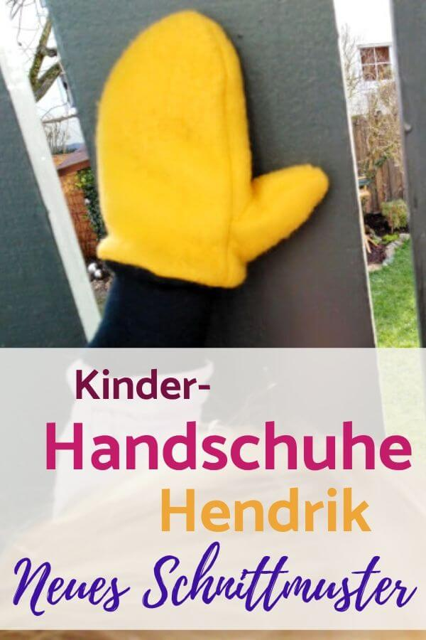 Kinder-Handschuhe Hendrik - Neues Schnittmuster