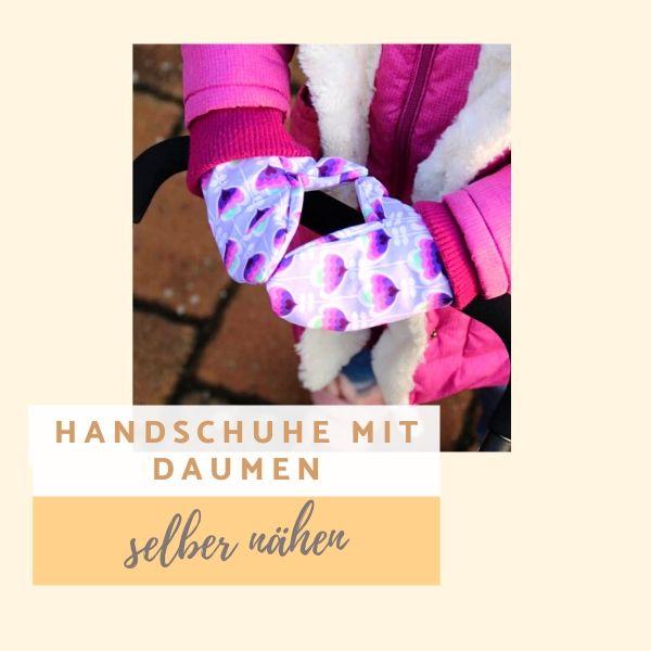 Titelbild: Schnittmuster Kinder-Handschuhe von K-Nähleon