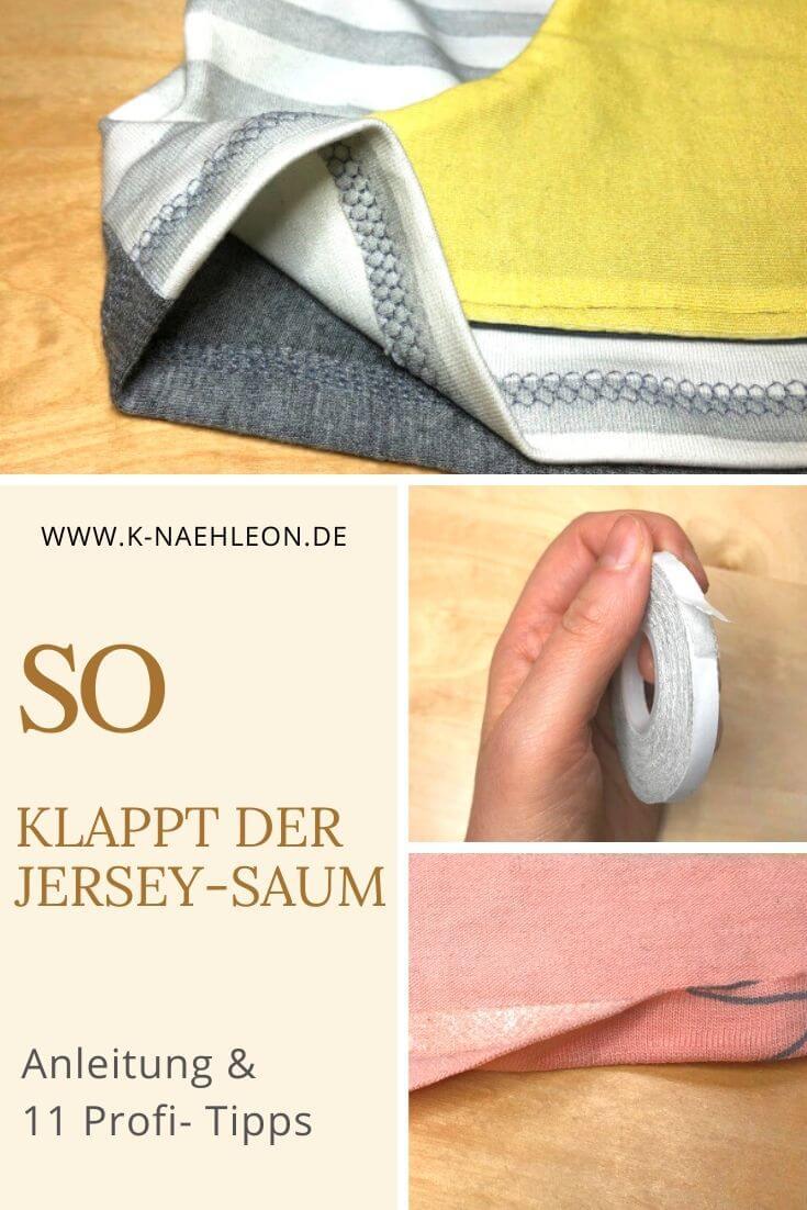 Anleitung & Tipps Jersey-Saum