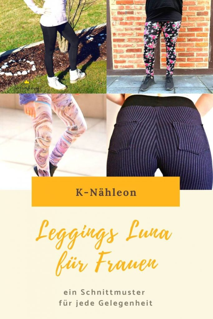Schnittmuster Leggings für Damen