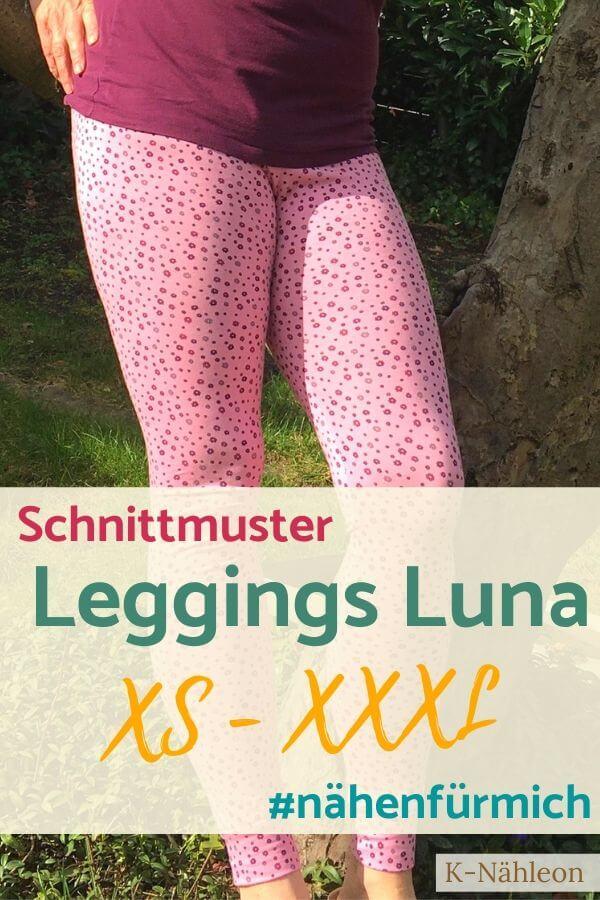 Schnittmuster Leggings Luna XS-XXXL
