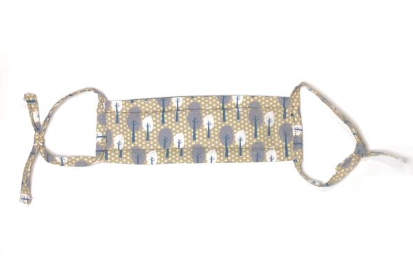 Mundschutzmaske selber nähen und mit Schrägband einfassen