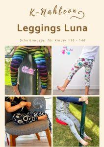 Schnittmuster für Kinder: Leggings Luna