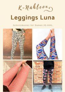 Schnittmuster Leggings Luna für Damen XS - XXXL