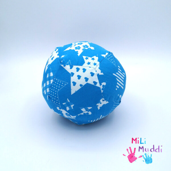 Ball für Babys selber nähen