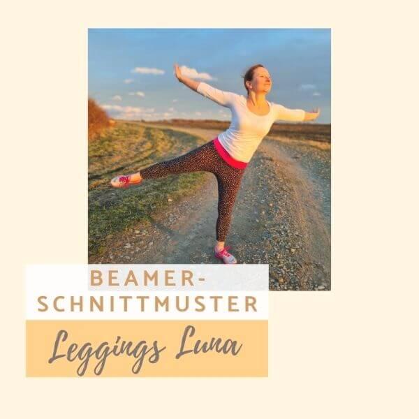 Beamer-Schnittmuster Leggings Luna für Damen