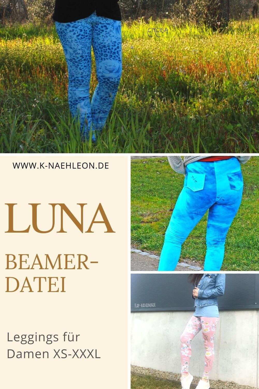 Beamer-Datei Leggings für Damen XS-XXXL